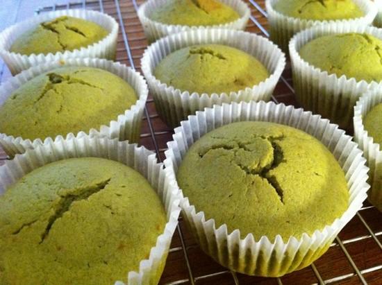 banh cupcake tra xanh 7