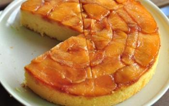 Cách làm bánh táo úp ngược siêu ngon không cần lò nướng