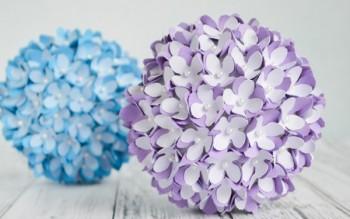 3 cách làm hoa cẩm tú cầu tươi tắn cho bàn làm việc