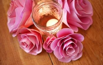 Một số kiểu hoa handmade đơn giản
