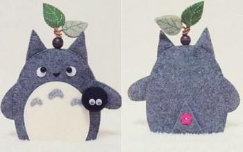 Móc khóa Thần rừng Totoro siêu đáng yêu