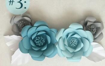 3 cách trang trí phòng tiệc bằng giấy siêu xinh vạn người mê