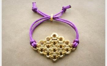 Cách làm vòng tay ốc vít handmade siêu cá tính