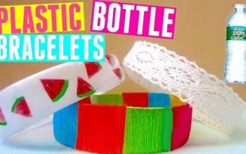 4 cách làm vòng tay độc đáo từ vỏ chai nhựa
