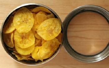 Cùng làm Bim bim chuối thơm ngon giòn tan đơn giản tại nhà