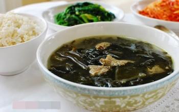 Cách làm rong biển khô nấu canh theo kiểu Hàn Quốc tại nhà