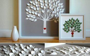 Một vài cách làm tranh handmade trang trí cho căn phòng thêm xinh