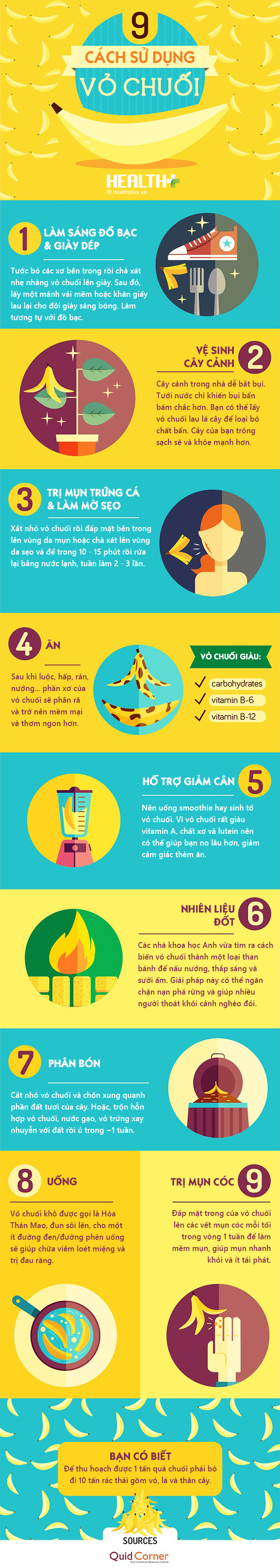 9 cach su dung vo chuoi