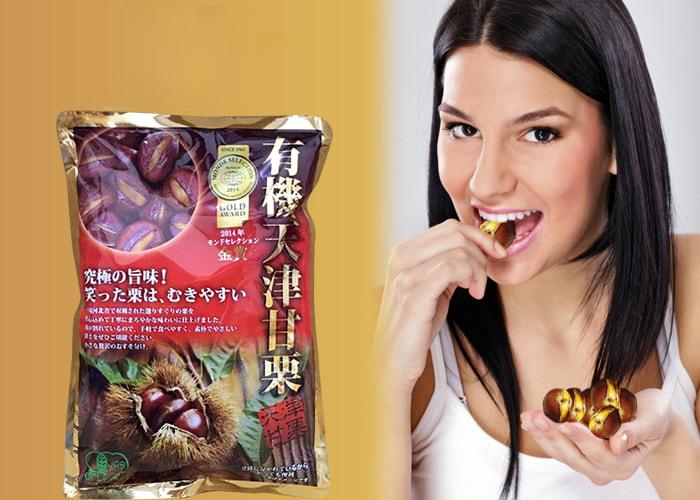 hạt dẻ hấp Nhật bản