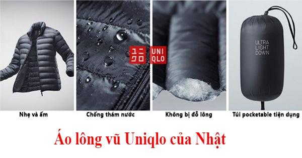 Đặc điểm của áo lông vũ Uniqlo
