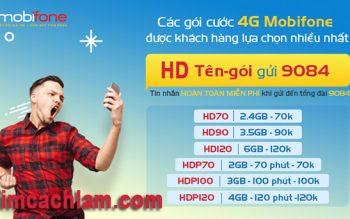 Các gói cước 4G Mobifone mới nhất 2018 tiết kiệm chi phí