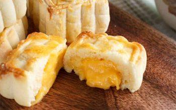 Cách làm bánh trung thu lava trứng muối đơn giản tại nhà