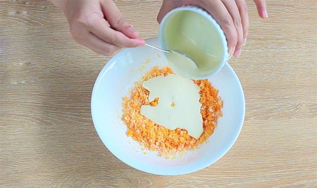 Cách làm bánh trung thu lava trứng muối 4