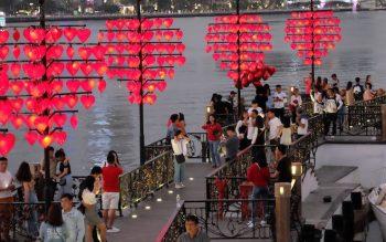 Cầu tình yêu Đà Nẵng: Hình ảnh, ý nghĩa, stt chân thực