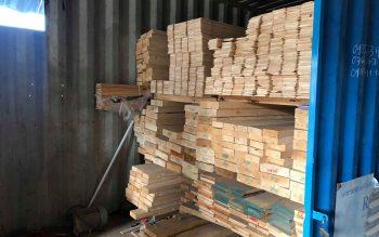 Kho gỗ thông – Ván Vania  – Cung cấp nguyên liệu gỗ nhập khẩu tại Đà Nẵng