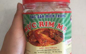 Bảng giá & Top 5 cửa hàng mực rim me Đà Nẵng chất lượng giá rẻ