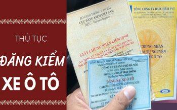 Thủ tục đăng kiểm xe tại Đà Nẵng đầy đủ nhất