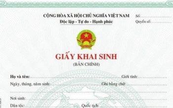 Thủ tục đăng ký khai sinh tại Đà Nẵng đầy đủ nhất